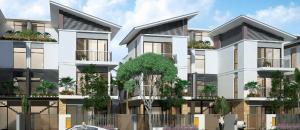 Biệt thự khu a mở rộng khu đô thị mới dương nội
