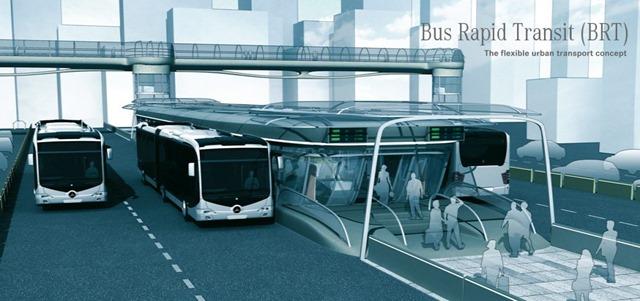 Nhà ga Metro tuyến Bus nhanh BRT đường Tố Hữu