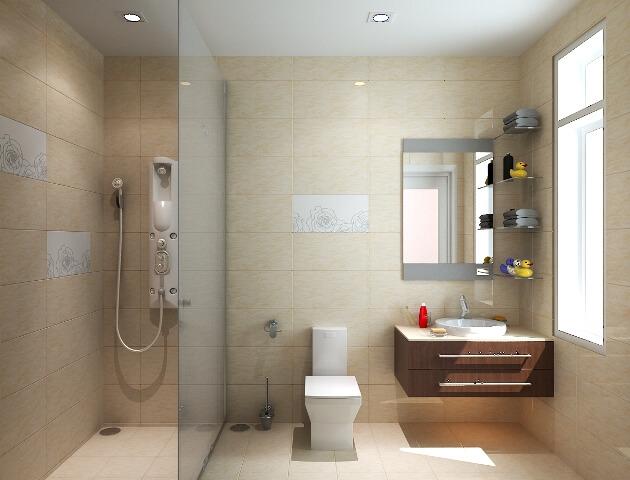 Nhà vệ sinh xây giữa nhà vì sẽ làm ô nhiễm tới các phòng khác trong nhà.