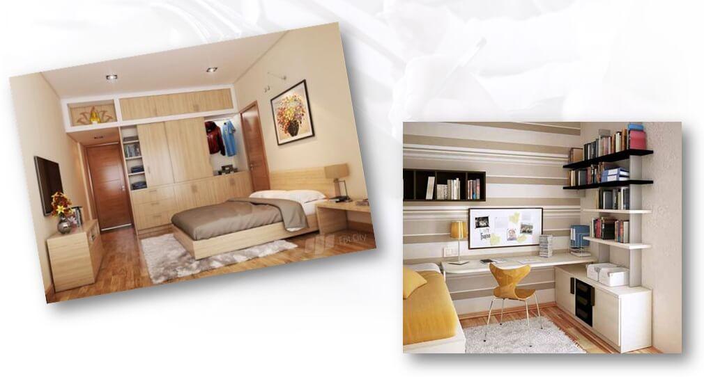 Thiết kế căn hộ chung cư 219 Trung Kính