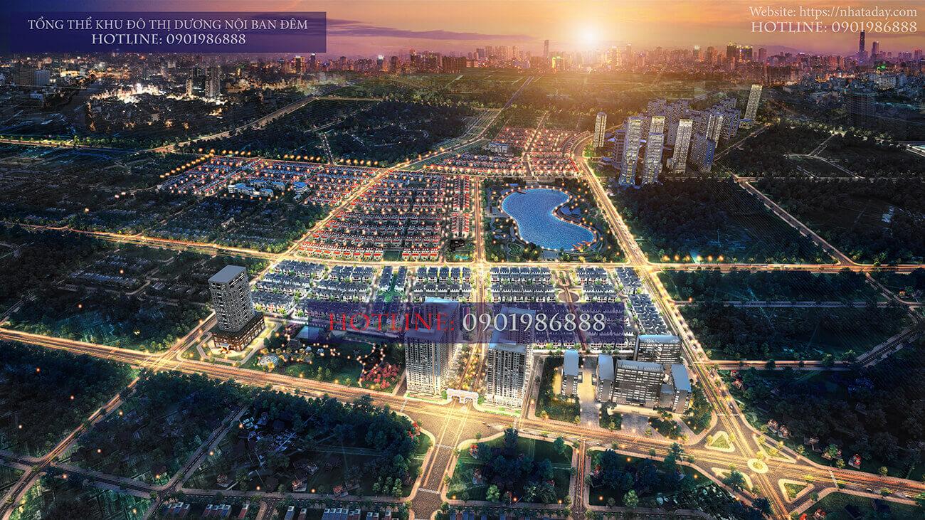 Chung cư AnLand Complex Building Nam Cường thuộc khu đô thị Dương Nội